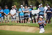 10th February 2018, Lake Karrinyup Country Club, Karrinyup, Australia; ISPS HANDA World Super 6 Perth golf, third round; Thorbjorn Olesen (DEN) in a bunker
