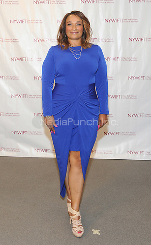NEW YORK, NY - JUNE 13:  Makeup Artist  Anita Gibson attends the New York Women in Film and Television Designing Women Awards on June 13, 2016 at CUNY Graduate Center in New York City. .Phto Credit: John Palmer/ Media Punch