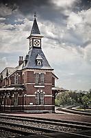 Railroad Station Main Street USA Architecture