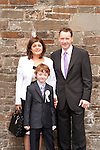 Thomas Maguire with Mam Siobhan and Dad Thomas<br /> Picture: Sinead O'Neill / www.newsfile.ie