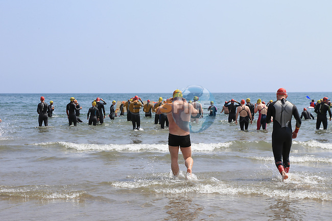 at the round the head swim in clogherhead.<br /> Picture:  www.newsfile.ie