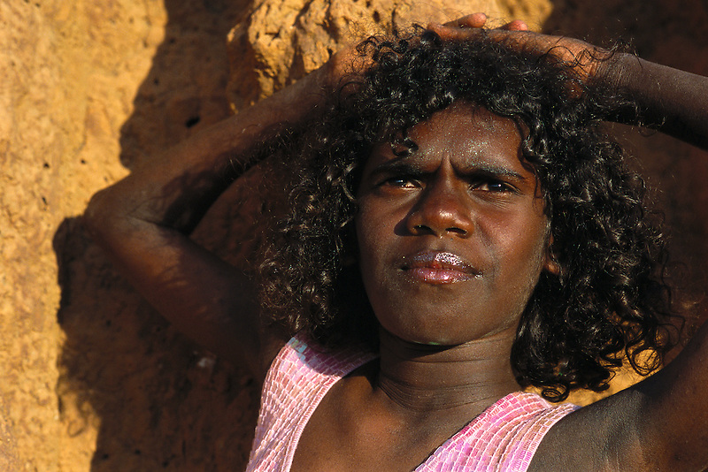 Isa Landis, Apalech Clan group, Aurukun, Cape York Peninsula.