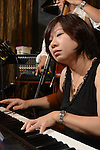 DC Stage, Kaohsiung -- Pianist Ni-Li Tang of Smalls Jazz Combo.