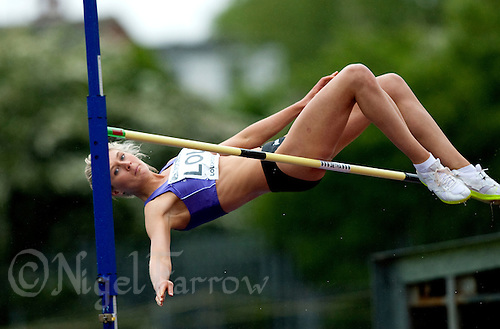 17 MAY 2009 - LOUGHBOROUGH,GBR - Stephanie Pywell - Womens High Jump - Loughborough International Athletics .(PHOTO (C) NIGEL FARROW)