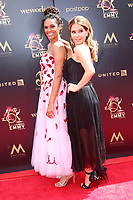 LOS ANGELES - MAY 5:  Briana Henry, Lisa LoCicero at the 2019  Daytime Emmy Awards at Pasadena Convention Center on May 5, 2019 in Pasadena, CA