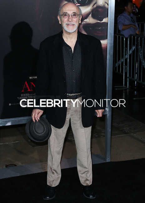 HOLLYWOOD, LOS ANGELES, CA, USA - SEPTEMBER 29: Tony Amendola arrives at the Los Angeles Premiere Of New Line Cinema's 'Annabelle' held at the TCL Chinese Theatre on September 29, 2014 in Hollywood, Los Angeles, California, United States. (Photo by Xavier Collin/Celebrity Monitor)