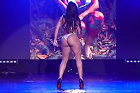 CIDADE DO MÉXICO, MÉXICO, 30.09.2019 - MISS-BUMBUM - Shirley Correa durante a final do concurso Miss Bumbum World na  ForoTotal Play na Cidade do México na capital mexicana nesta segunda-feira, 30.  (Foto: William Volcov/Brazil Photo Press)