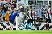 Martin Dubravka of Newcastle United saves from Ross Barkley of Chelsea during Newcastle United vs Chelsea, Premier League Football at St. James' Park on 13th May 2018