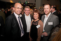 Left to right are Phil Truman of Yorkshire Bank, Mark Coulam of National Australia Group Europe and Maxine Bailey and Graham Harper both of Yorkshire Bank