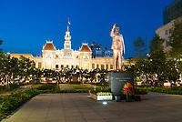 Ho Chi Minh Statue Near City Hall