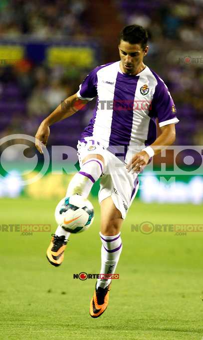 Real Valladolid´s Oscar during La Liga match.August 31,2013. (ALTERPHOTOS/Victor Blanco)