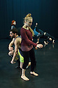 National Dance Company Wales in the studio at Dance House, Wales Millennium Centre, rehearsing FOLK, choreographed by artistic director, Caroline Finn, in preparation for their Spring Tour 2016.