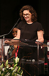 Julia Jordan on stage at the The Lilly Awards  at Playwrights Horizons on May 22, 2017 in New York City.