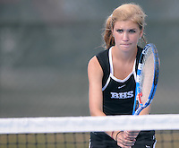 NWA Media/ J.T. Wampler - Action from the 7A West Boys and Girls Tennis Tournament held at Har-Ber High School in Springdale Thursday Oct. 9, 2014