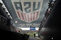 East Hartford, CT - Saturday July 01, 2017:  Pratt & Whitney Stadium during an international friendly game between the men's national teams of the United States (USA) and Ghana (GHA) at Pratt & Whitney Stadium.