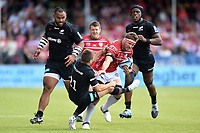 Jaco Kriel of Gloucester Rugby takes on the Saracens defence. Gallagher Premiership Semi Final, between Saracens and Gloucester Rugby on May 25, 2019 at Allianz Park in London, England. Photo by: Patrick Khachfe / JMP