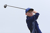 Cian O'Connor (Roscommon) on the 10th tee during the Final round in the Connacht U16 Boys Open 2018 at the Gort Golf Club, Gort, Galway, Ireland on Wednesday 8th August 2018.<br /> Picture: Thos Caffrey / Golffile
