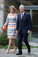 King Philippe and Queen Mathilde of Belgium at the United Nations while on a Royal visit to New York