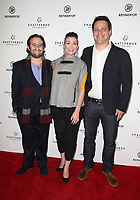 LOS ANGELES, CA - NOVEMBER 9: David Shapiro, Amy Emmerich, Michael A. Pruss, at the Los Angeles Premiere of Come Swim at the Landmark Theater in Los Angeles, California on November 9, 2017. Credit: November 9, 2017.   <br /> CAP/MPI/FS<br /> &copy;FS/MPI/Capital Pictures