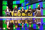 Bono speaking at the Web Summit 2014 in Dublin<br /> Pic: Angela Halpin