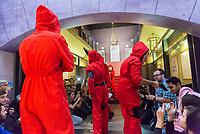 SÃO PAULO, SP, 09.12.2018 - CCXP - Público durante a Comic Con Experience na São Paulo Expo no bairro da Água Funda, na região Sul da cidade de São Paulo neste domingo, 09. (Foto: Anderson Lira/Brazil Photo Press)