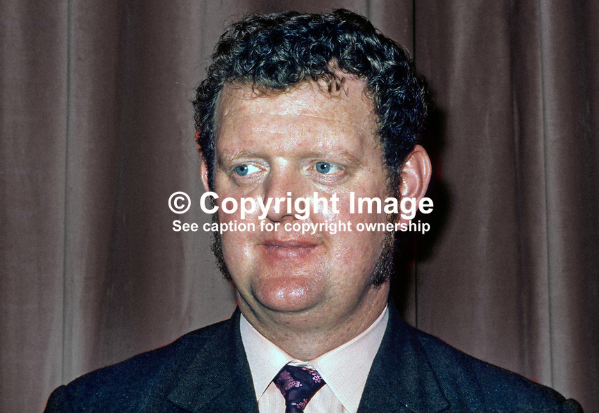 Fred Proctor, candidate, North Belfast, DUP, N Ireland Assembly Election, 197306000406b.<br /> <br /> Copyright Image from Victor Patterson,<br /> 54 Dorchester Park, <br /> Belfast, UK, BT9 <br /> <br /> t1: +44 28 9066 1296 (from Rep of Ireland 048 90661296)<br /> t2: +44 28 9002 2446 (from Rep of Ireland 048 9002 2446)<br /> <br /> m: +44 7802 353836<br /> <br /> e: victorpatterson@me.com<br /> www.victorpatterson.com<br /> <br /> Please see my Terms and Conditions of Use at www.victorpatterson.com. It is IMPORTANT that you familiarise yourself with them.<br /> <br /> Images used on the Internet must be visibly watermarked i.e. &copy; Victor Patterson<br /> within the body of the image and copyright metadata must not be deleted. Images <br /> used on the Internet have a size restriction of 4kbs and will be chargeable at current<br />  NUJ rates unless agreed otherwise.<br /> <br /> This image is only available for the use of the recipient i.e. television station, newspaper, magazine, book publisher, etc, and must not be passed on to any third party. It is also downloaded on condition that each and every usage is notified within 7 days to victorpatterson@me.com<br /> <br /> The right of Victor Patterson to be identified as the author is asserted in accordance with The Copyright Designs And Patents Act (1988). All moral rights are asserted.