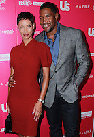 NEW YORK, NY - SEPTEMBER 10: Nicole Murphy and Michael Strahan arrive at Us Weekly's Most Stylish New Yorkers Party held at Harlow on September 10, 2013 in New York City. (Photo by Jeffery Duran/Celebrity Monitor)