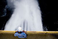 Sao Goncalo Rio Abaixo_MG, Brasil...PCH (Pequena Central Hidreletrica) de Peti, no municipio de Sao Goncalo do Rio Abaixo, Minas Gerais...PHC (Small Hydro Power Plant) of Peti, in Sao Goncalo do Rio Baixo, Minas Gerais...Foto: BRUNO MAGALHAES / NITRO