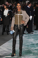 Sinitta arriving for the UK Premiere or Noah, at Odeon Leicester Square, London. 31/03/2014 Picture by: Alexandra Glen / Featureflash