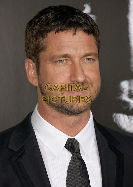 GERARD BUTLER .'Law Abiding Citizen' Los Angeles Premiere 2009 held at the Graumans Chinese Theatre,  Hollywood, California, USA,  6th October 2009..portrait headshot beard facial hair black tie white shirt .CAP/ADM/CH.©Charles Harris/AdMedia/Capital Pictures