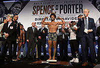 LOS ANGELES - SEPTEMBER 27: Shawn Porter attends the weigh-in for the September 28 Fox Sports PBC Pay-Per-View fight night in Los Angeles, California. (Photo by Frank Micelotta/Fox Sports/PictureGroup)