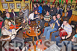 Musicians preforming at the Railway Bar, Ballybunion last Friday for Oiche Cheoil to celebrate the upcoming County Fleadh later on this year.
