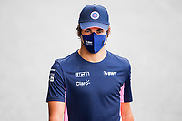 17th July 2020, Hungaroring, Budapest, Hungary; F1 Grand Prix of Hungary,  free practise sessions;  18 Lance Stroll CAN, BWT Racing Point F1 Team  arrives at track in Budapest Hungary