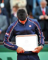 Novak DJOKOVIC - 11.06.2012 - Finale - Roland Garros 2012.