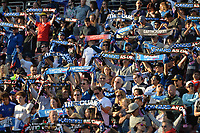 Stanford, CA - Saturday July 01, 2017: Fans, Supporters, scarves during a Major League Soccer (MLS) match between the San Jose Earthquakes and the Los Angeles Galaxy at Stanford Stadium.