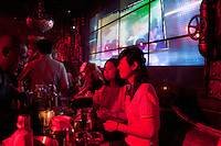 Club No 88. A very Chinese style night club. Series of images looking at 'Trendy Shanghai' By Jonathan Browning.