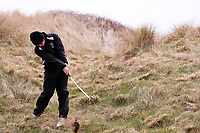 Rory Williamson (Holywood) during the 3rd round of matchplay at the 2018 West of Ireland, in Co Sligo Golf Club, Rosses Point, Sligo, Co Sligo, Ireland. 02/04/2018.<br /> Picture: Golffile | Fran Caffrey<br /> <br /> <br /> All photo usage must carry mandatory copyright credit (&copy; Golffile | Fran Caffrey)
