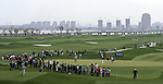 SUZHOU, CHINA - APRIL 17:  General view of the 15th hole during the Round Three of the Volvo China Open on April 17, 2010 in Suzhou, China. Photo by Victor Fraile / The Power of Sport Images