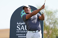 Jonathan Vegas (VEN) on the 8th during Round 3 of the Saudi International at the Royal Greens Golf and Country Club, King Abdullah Economic City, Saudi Arabia. 01/02/2020<br /> Picture: Golffile | Thos Caffrey<br /> <br /> <br /> All photo usage must carry mandatory copyright credit (© Golffile | Thos Caffrey)