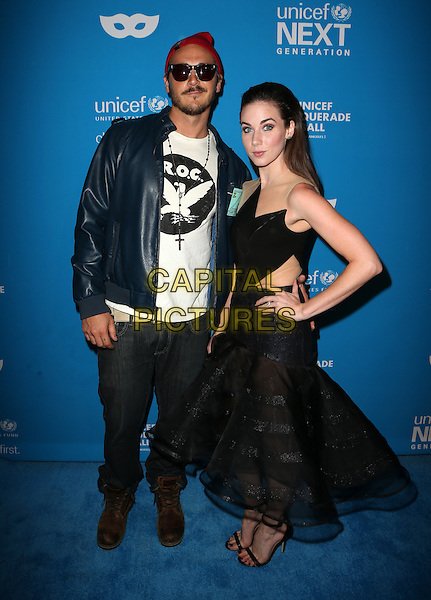 LOS ANGELES, CA - OCTOBER 27: Lyndon Smith, Guest at the Fourth Annual UNICEF Masquerade Ball Los Angeles at Clifton's Cafeteria in Los Angeles, California on October 27, 2016. <br /> CAP/MPI/FS<br /> &copy;FS/MPI/Capital Pictures