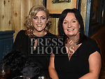 Jillian Sharkey and Delores Minogue at the Ardee Traders Dinner in Muldoons. Photo:Colin Bell/pressphotos.ie
