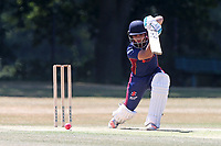Bilal Patel in batting action for Wanstead during Wanstead and Snaresbrook CC vs Hornchurch CC, Shepherd Neame Essex League Cricket at Overton Drive on 30th June 2018