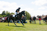 Badminton, Gloucestershire, United Kingdom, 4th May 2019, Ben Hobday riding Harelaw Wizard during the Cross Country Phase of the 2019 Mitsubishi Motors Badminton Horse Trials, Credit:Jonathan Clarke/JPC Images