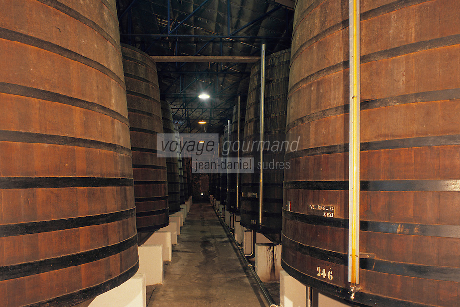 France/DOM/Martinique/Sainte-Marie/Distillerie Saint-James: Les chais