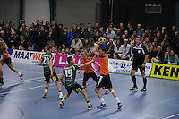 KORFBAL: GORREDIJK: 15-10-2015, LDODK - TEAM NEDERLAND, Erwin Zwart aan de bal, ©foto Martin de Jong