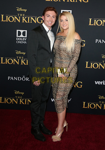 HOLLYWOOD, CA - JULY 9: Daryl Sabara and Meghan Trainor at The Lion King Film Premiere at El Capitan Theatre in Hollywood, California on July 9, 2019. <br /> CAP/MPIFS<br /> ©MPIFS/Capital Pictures