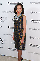 Dr. Joyce F. Brown arrives at the Future of Fashion 2017 runway show at the Fashion Institute of Technology on May 8, 2017.