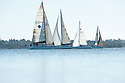 Sailing boats on the Swan River in Western Australia.
