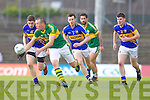 Kieran Donaghy, Kerry in action against Philip Austin, Tipperary in the first round of the Munster Football Championship at Fitzgerald Stadium on Sunday.