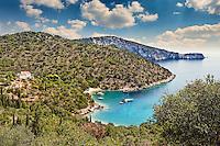 Sarakiniko in Ithaki island, Greece